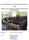 Final report of the baseline survey for the quality enhancement initiative (QEI) project