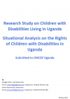 Research Study on Children with Disabilities Living in Uganda